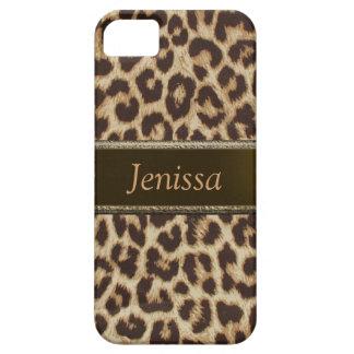 Kundenspezifischer Leopard-Druck iPhone 5 Fall iPhone 5 Etuis
