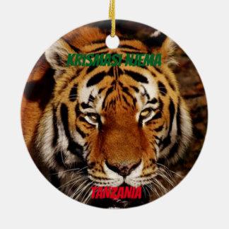 Kundenspezifischer Löwe Keramik Ornament