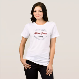 Kundenspezifischer Mamma-Spiel-T - Shirt