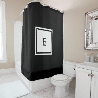 Kundenspezifischer mit Monogramm Duschvorhang