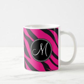 Kundenspezifischer mit Monogramm heißes Kaffeetasse