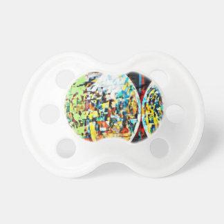 Kundenspezifischer Mond in Disco-Entwurf Schnuller
