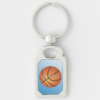 Kundenspezifischer Monogramm-Basketball schaffen Schlüsselanhänger