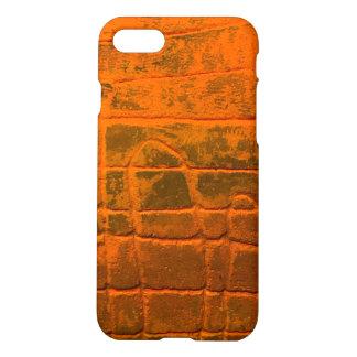 Kundenspezifischer orange iPhone 8/7 hülle