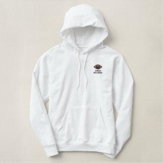 Kundenspezifischer personalisierter bestickter hoodie