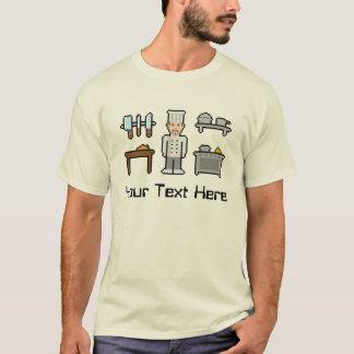 Kundenspezifischer Pixel-Koch T-Shirt