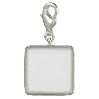 Kundenspezifischer quadratischer Charme Charms