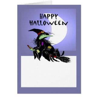 Kundenspezifischer Rahmen, glückliches Halloween, Karte