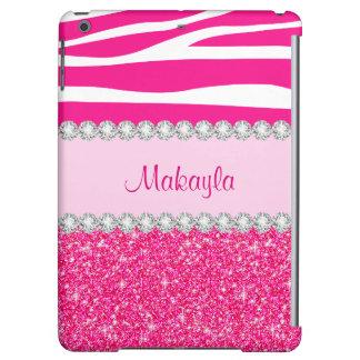 Kundenspezifischer rosa Glitter-FallSavvy