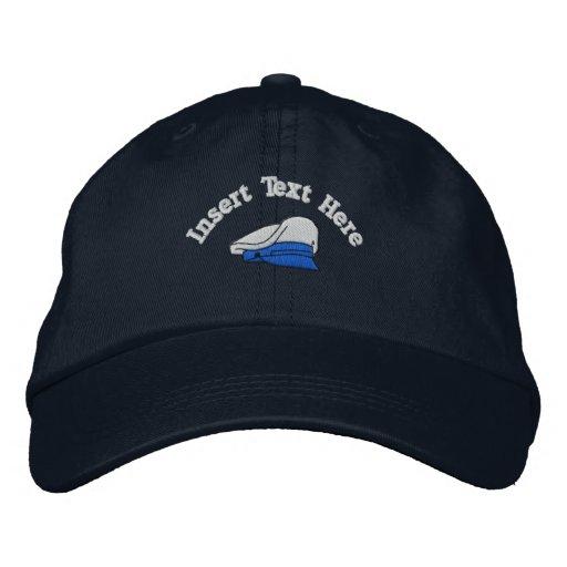 Kundenspezifischer Schiffs-Kapitän gestickter Hut Bestickte Baseballkappe