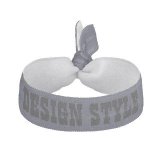 Kundenspezifischer schöner Entwurfs-Haargummi Haarschleife
