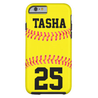 Kundenspezifischer Softball iPhone 6 Fall Tough iPhone 6 Hülle