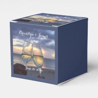 Kundenspezifischer Sonnenuntergang auf Geschenkschachtel