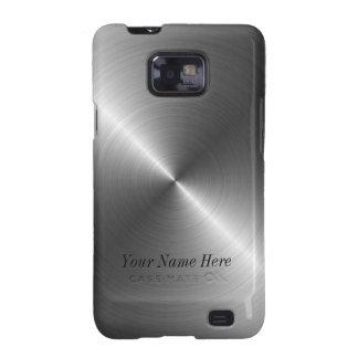 Kundenspezifischer Stahlkasten metallblick-Samsung Samsung Galaxy S2 Hülle