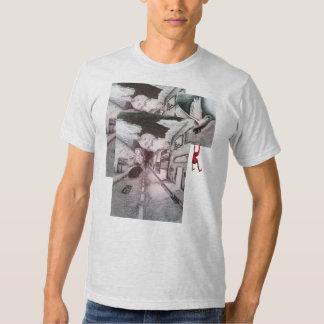 Kundenspezifischer Straßenabnutzung Graffiti-T - T Shirts