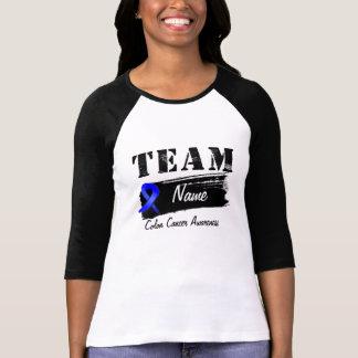 Kundenspezifischer Team-Name - Darmkrebs Shirts
