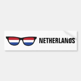 Kundenspezifischer Text der niederländischen Autoaufkleber