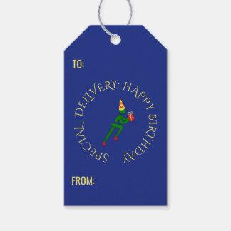 Kundenspezifischer Text des Geburtstagsathleten Geschenkanhänger