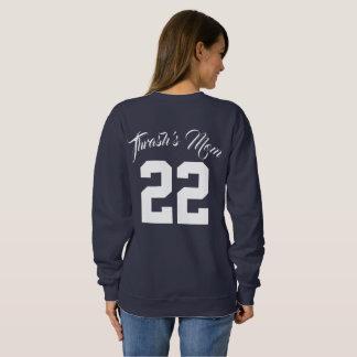 Kundenspezifischer Text und Sweatshirt