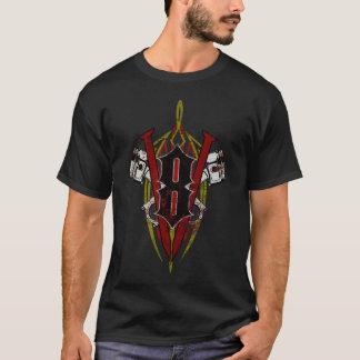 Kundenspezifischer V8-Nadelstreifen-Entwurf T-Shirt