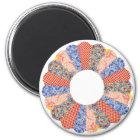 Kundenspezifischer Vintager Runder Magnet 5,7 Cm