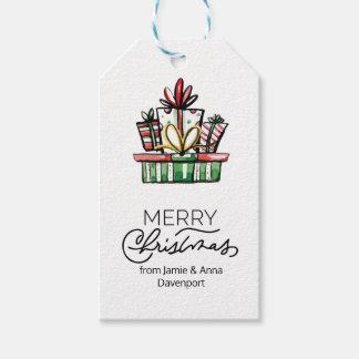 Kundenspezifischer Weihnachtsumbau mit Geschenkanhänger
