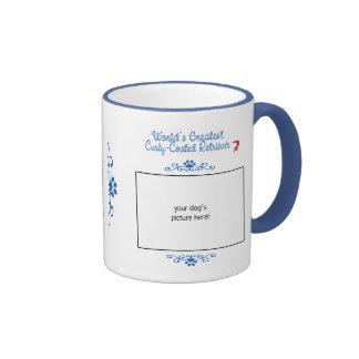 Kundenspezifischer weltbester Gelockt-Überzogener  Kaffee Haferl