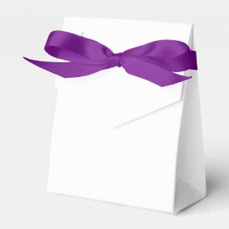 Kundenspezifischer Zelt-Bevorzugungs-Kasten (lila Geschenkschachteln