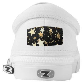 Kundenspezifischer Zipz Beleg auf Schuhen Slip-On Sneaker