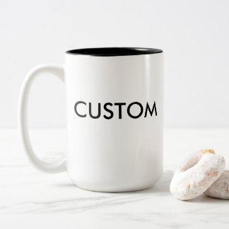 Kundenspezifischer Zwei-Ton große Tasse 15oz -