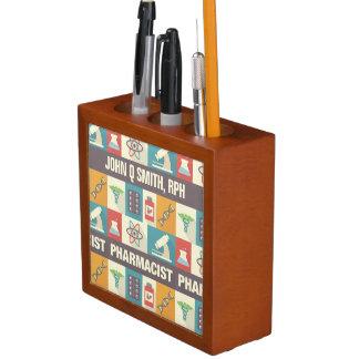 Kundenspezifisches Apotheker-ikonenhaftes Stifthalter