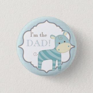 Kundenspezifisches Baby-Duschen-Party bin ich der Runder Button 2,5 Cm