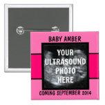 Kundenspezifisches Baby-Mädchen-Ultraschall-Foto