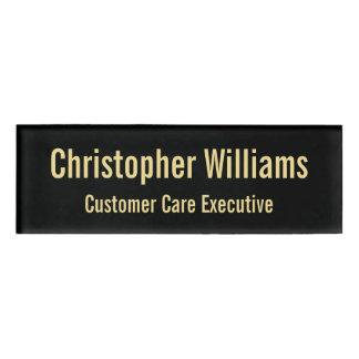 Kundenspezifisches berufliches namenschild