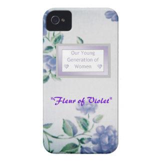 "Kundenspezifisches BlackBerry-mutige Hüllen ""Fleur iPhone 4 Hüllen"