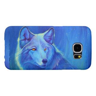 Kundenspezifisches blauer Wolf der