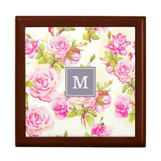 Kundenspezifisches Blumenmuster-alter Geschenkbox