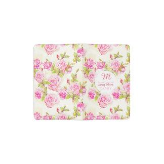 Kundenspezifisches Blumenmuster-altes Moleskine Taschennotizbuch