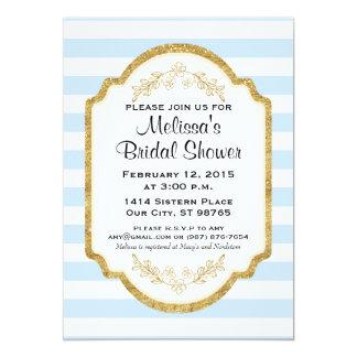 Kundenspezifisches Brautparty laden, blaue Karte