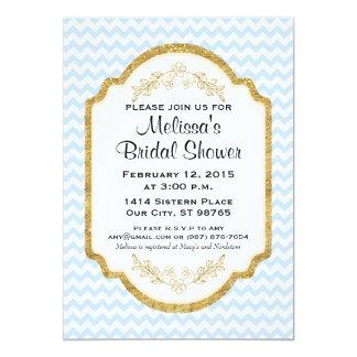Kundenspezifisches Brautparty laden, blaues Karte