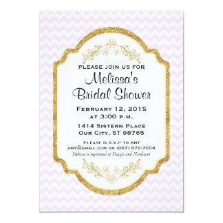 Kundenspezifisches Brautparty laden ein, das Karte