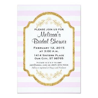 Kundenspezifisches Brautparty laden, rosa Karte