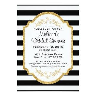 Kundenspezifisches Brautparty laden, schwarze Karte