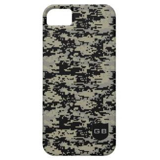 Kundenspezifisches Didgital Camouflage-Monogramm iPhone 5 Hüllen
