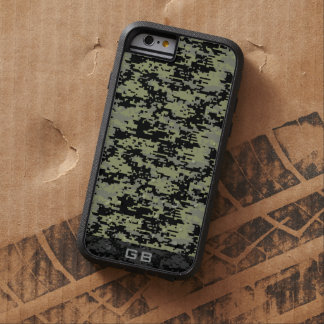 Kundenspezifisches Didgital Camouflage-Monogramm Tough Xtreme iPhone 6 Hülle