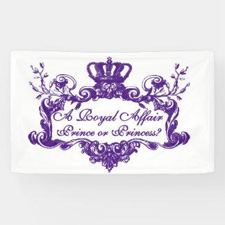 Kundenspezifisches elegantes königliches banner