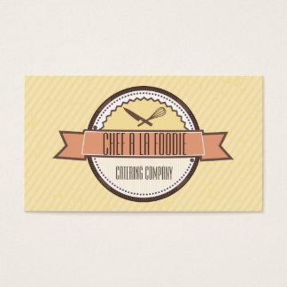 Kundenspezifisches FarbKochsmesser wischen das Visitenkarte