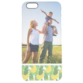 Kundenspezifisches Foto-Bananen-Blätter und Durchsichtige iPhone 6 Plus Hülle