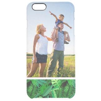 Kundenspezifisches Foto-Blätter der tropischen Durchsichtige iPhone 6 Plus Hülle