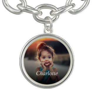 Kundenspezifisches Foto Charm Armband
